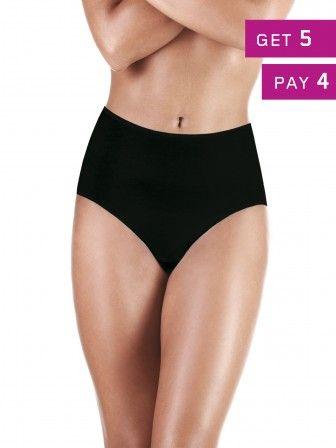 pack 5 Cotton Maxi Panties